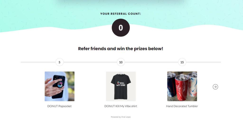 Reward system that matches brand