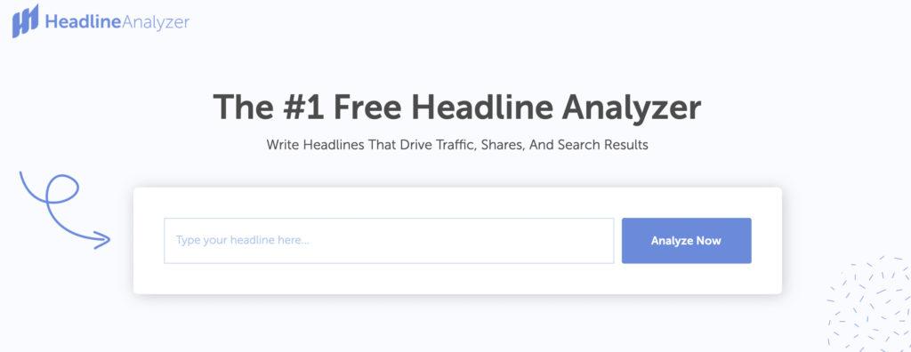 Headline Analyzer solution