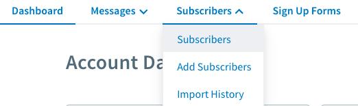 AWeber Subscriber Management