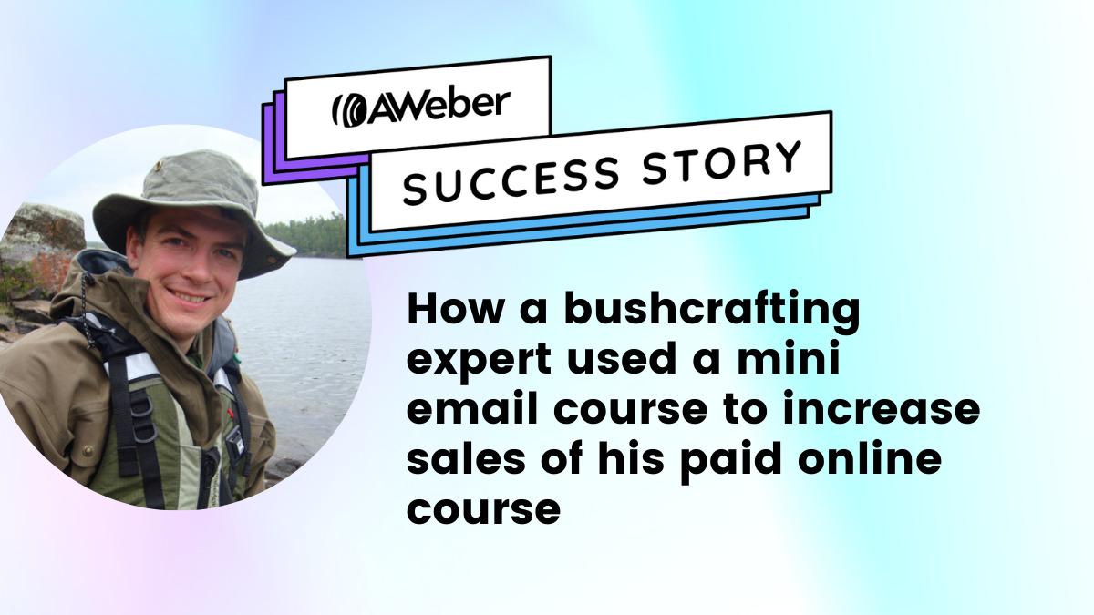 AWeber customer success story with Paul Kirtley