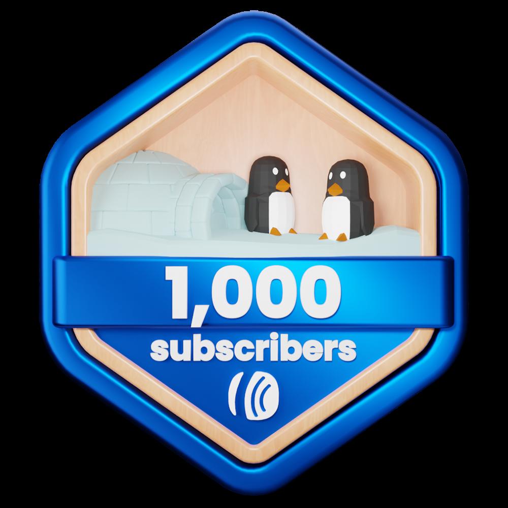 penguin badge aweber