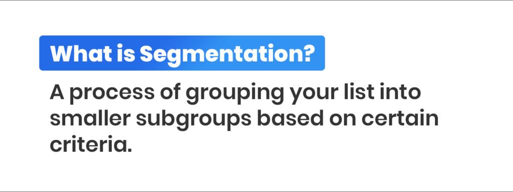 what is segmentation definition